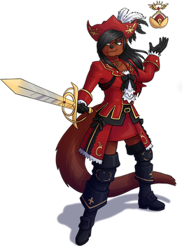 Leilani as Red Mage
