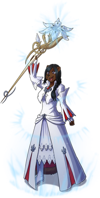 Kalea as White Mage