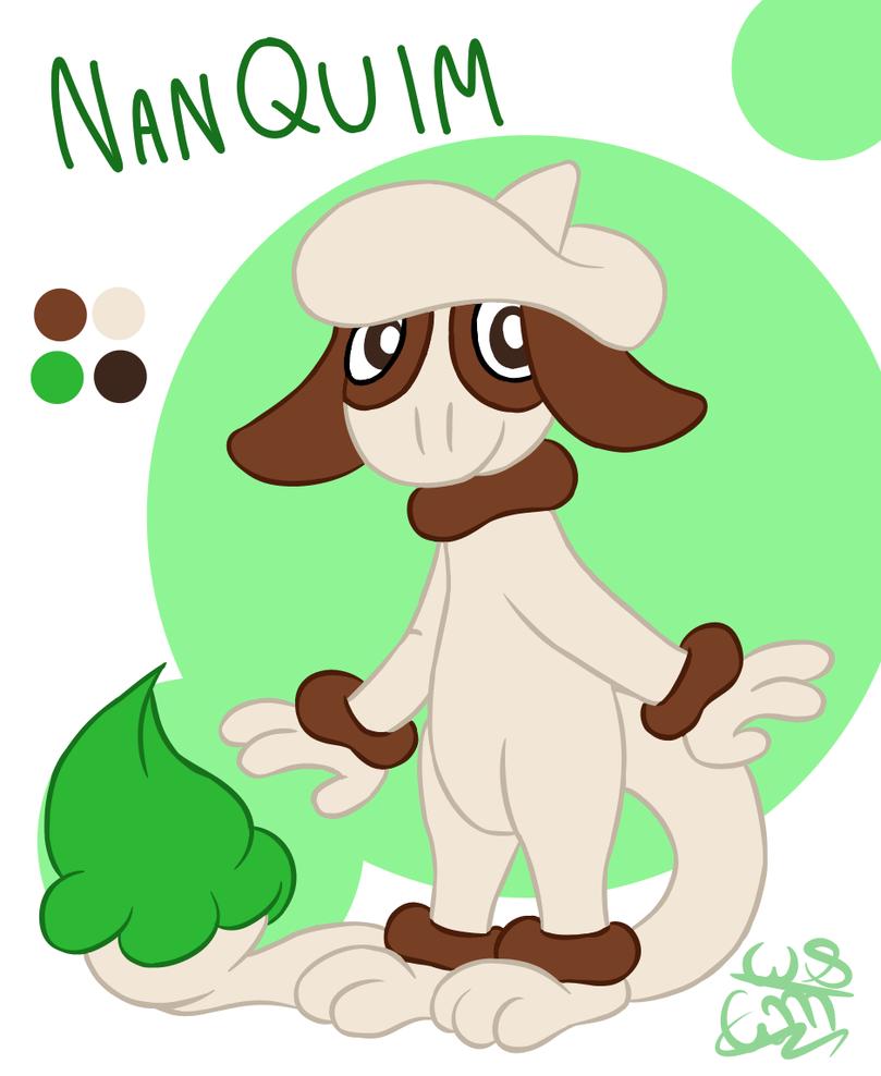 Nanquim the Smeargle by AbracaMari