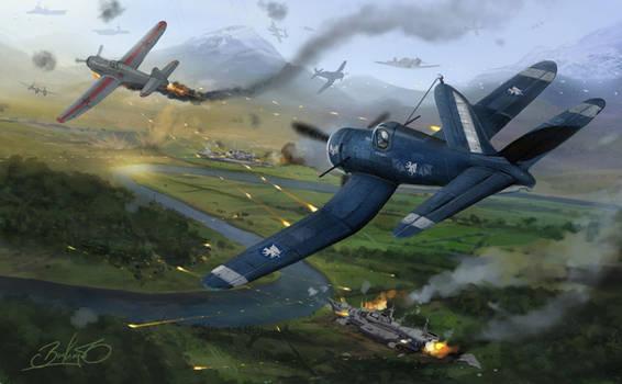 Battle of Davenport Fields by Lionel23