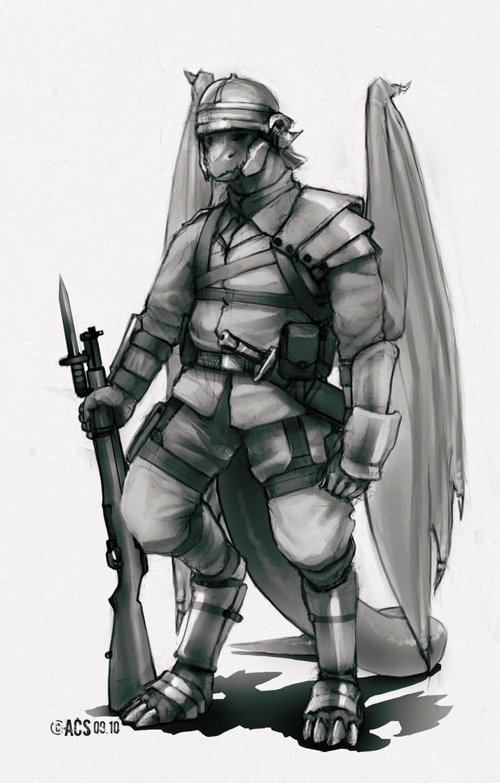 Arcadian Legionnaire by Lionel23