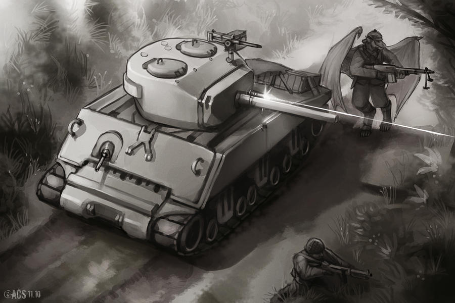 Jumbo on Patrol by Lionel23