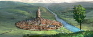 Al'kor - The Ancient Capital by Lionel23