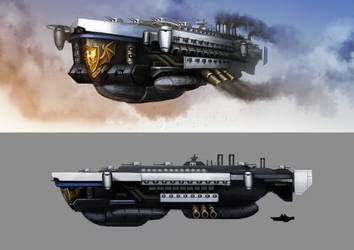 Dreadnought A.R.S. Red Liberty by Lionel23