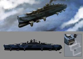 Republic Legion Battlecruiser by Lionel23