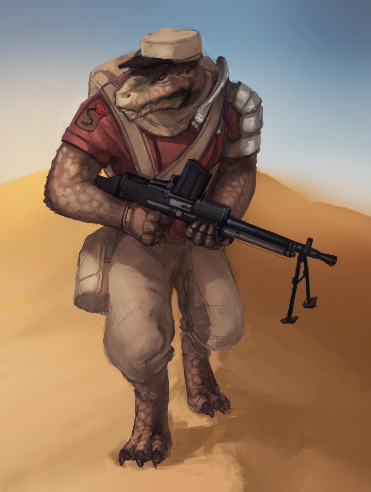 San-San Saruk Lizardman by Lionel23