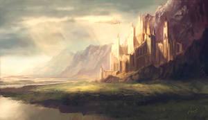 Caer Elysa - Holy City of Paladins