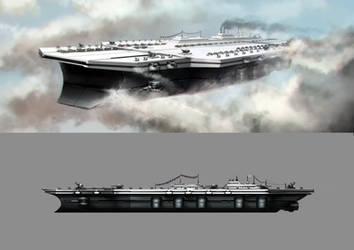 Elysa Dreadnought Archangel - Super Carrier by Lionel23
