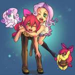 Best Friends Forever - Sweetie Bell and Applebloom
