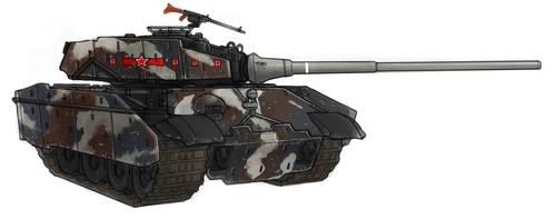 ICA Heavy Tank - Konigstiger (King Tiger) by Lionel23