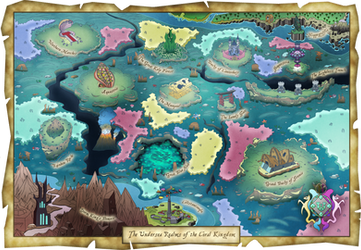 The Undersea Realm - Equestria Expanded Map by Lionel23
