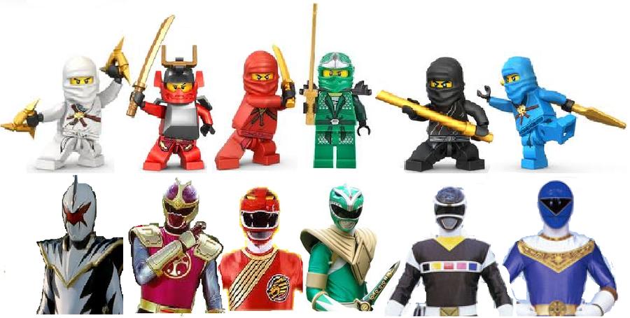 Power rangers vs ninjago by comicmaker0 on deviantart - Ninjago vs ninjago ...