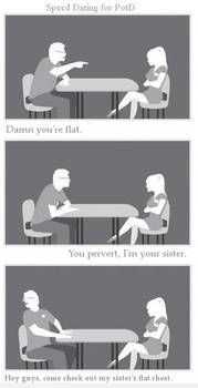 Speed Dating - My Sister's Flat Chest
