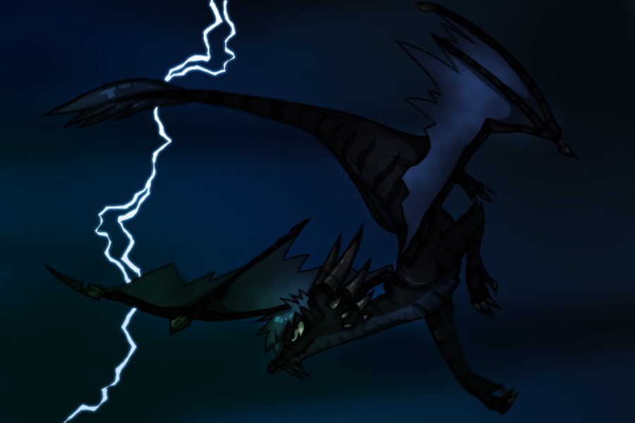 Dragon's Flight by zeraan
