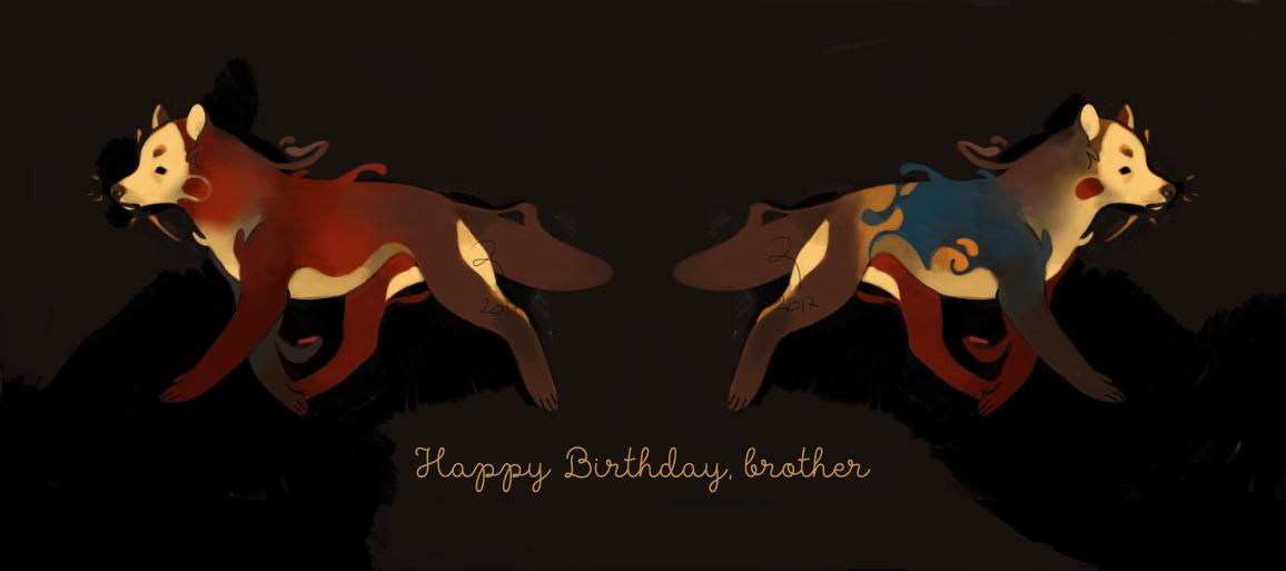 (CLOSED) Happy Birthday, brother by zeraan