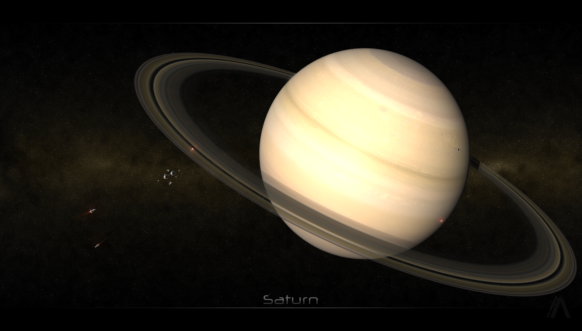The Space Age - Saturn by BryanDesign on DeviantArt