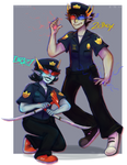 its the popo