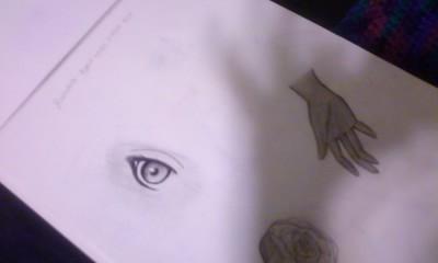 Hand Eye by Darkfairydreams
