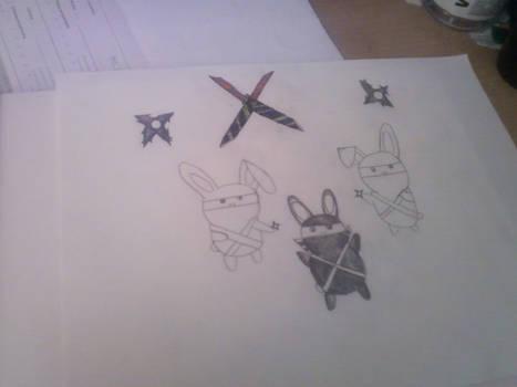 ninja bunnies