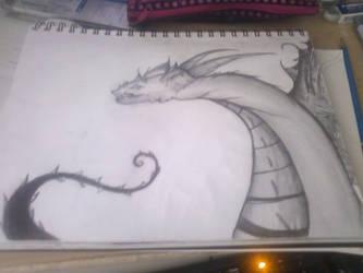 Dragon one by Darkfairydreams
