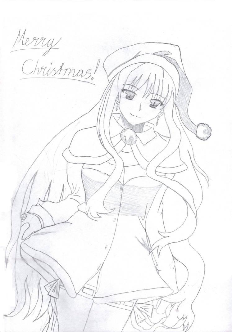 Merry X-Mas minna-san by PersonaUserRaven