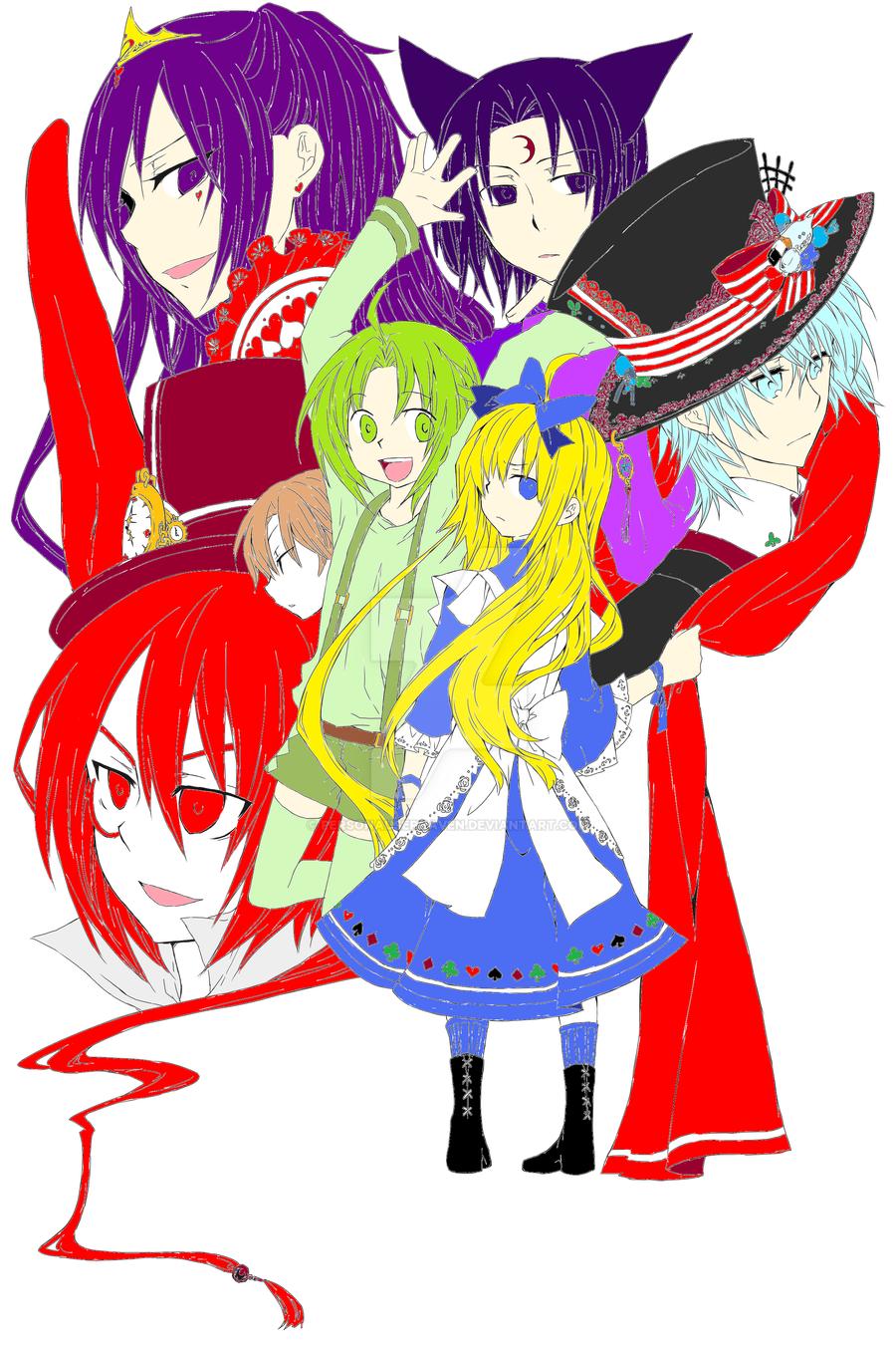 Sun Knight In Wonderland Color by PersonaUserRaven