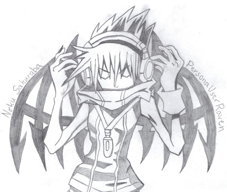 Reaper Neku by PersonaUserRaven