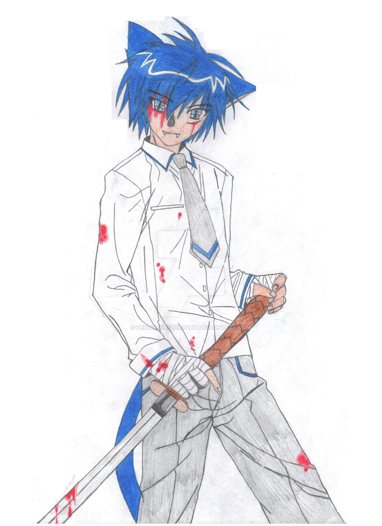 Bloody Neko by PersonaUserRaven