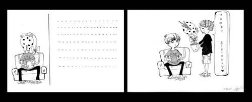 Post Cards 1 by Hotara