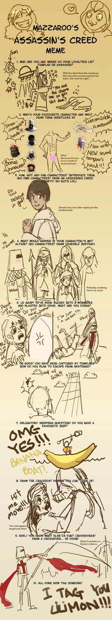 Assassins Creed Meme by Hotara