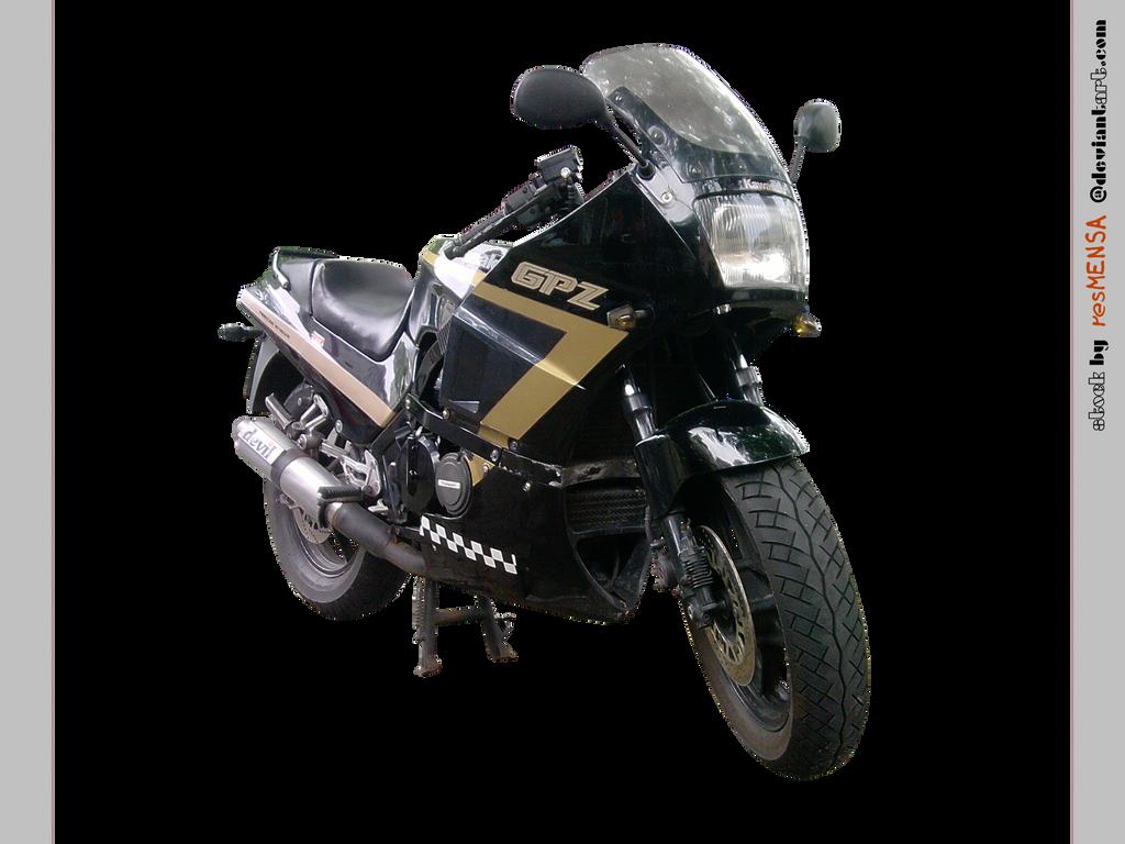 Kawasaki Gpz  Ut Cafe Racer