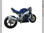 Honda CBR 900 Blue Robot b-r - STOCK