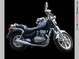 Kawasaki EN 500 right - STOCK
