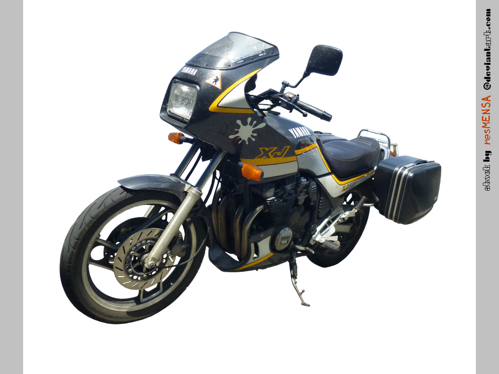 Yamaha XJ 600 front-left - STOCK by resMENSA on DeviantArt