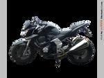 Kawasaki Z1000 left - STOCK