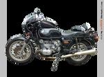 BMW R80 7 800 cc left - STOCK