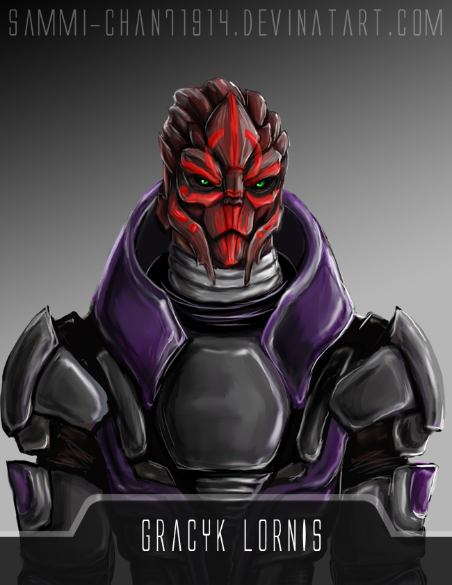 Turian-Gracyk Lornis by Rossilyn on DeviantArt