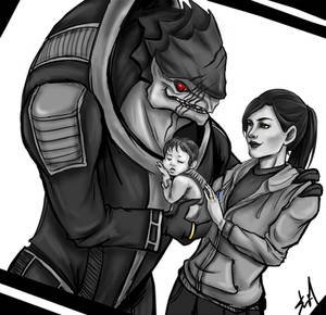 Wrex and Ashley Family