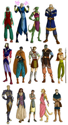 TES characters