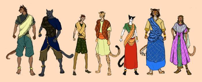 Khajiit clothing by ankalime