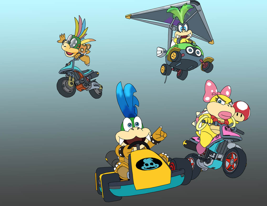 The Koopalings Mario Kart 8 WIP 3 by richard16 on DeviantArt