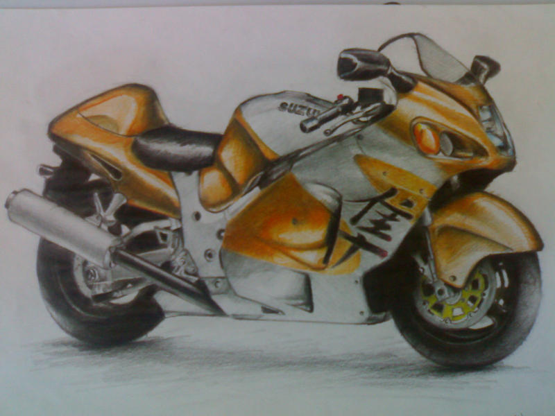 Suzuki Hayabusa By Cizeradam On DeviantArt
