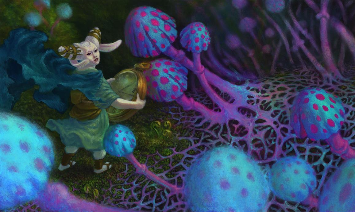 Tamiyo the White Rabbit by wiltekirra