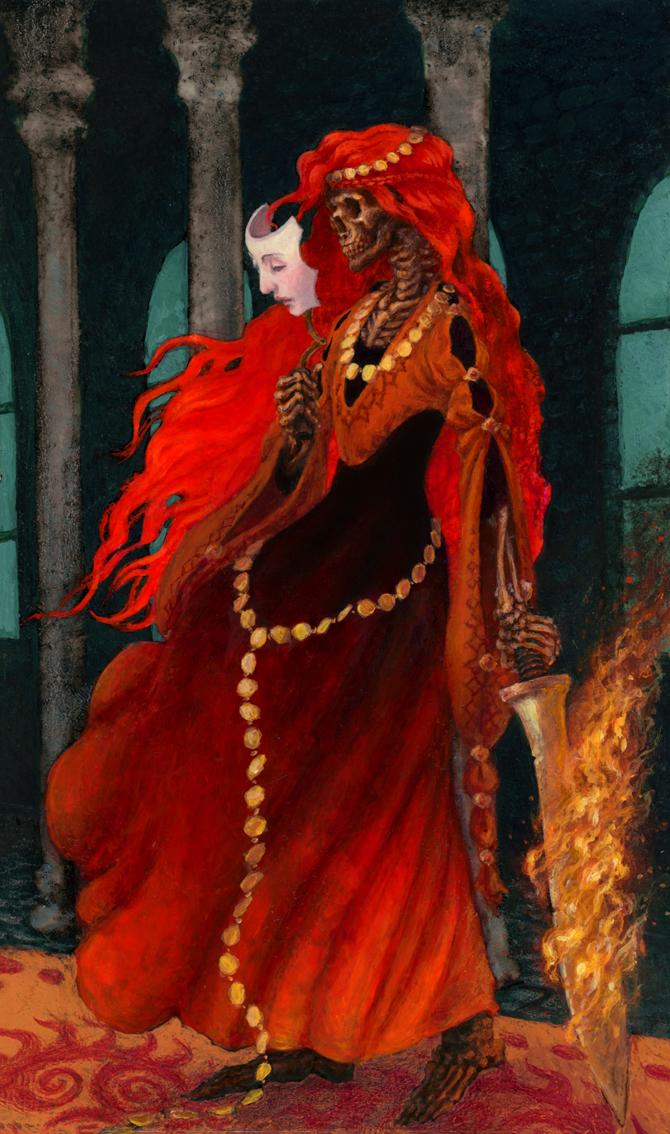 The Fire Witch by wiltekirra