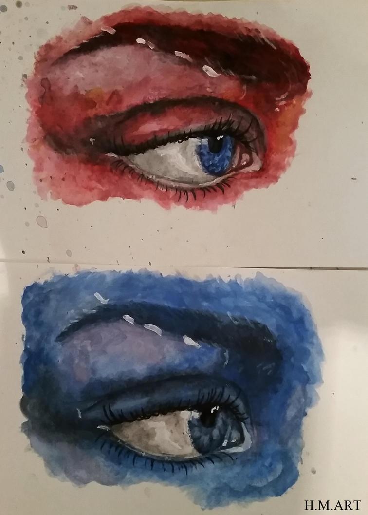 Eye Experiments by Marmiexx