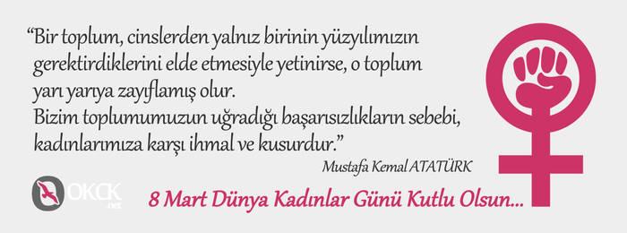 8 Mart Dunya Kadinlar Gunu Kutlu Olsun... by okckilinc