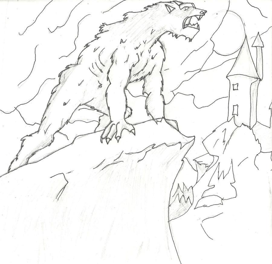 Werewolf by Baby-Wolf-Cub