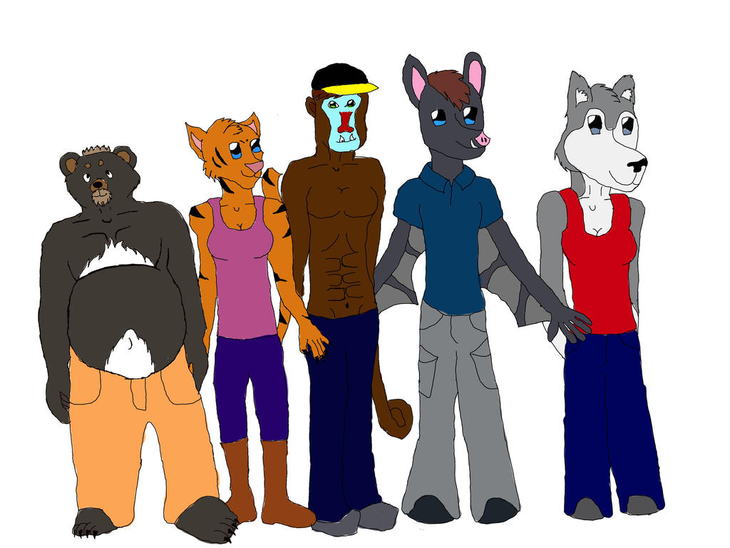 Family photo by Baby-Wolf-Cub