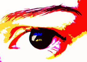 My eye again... by Cicia