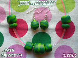 Jungle fever parure by Cicia